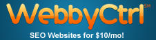 WebbyCtrl - SEO Websites for $10/mo!